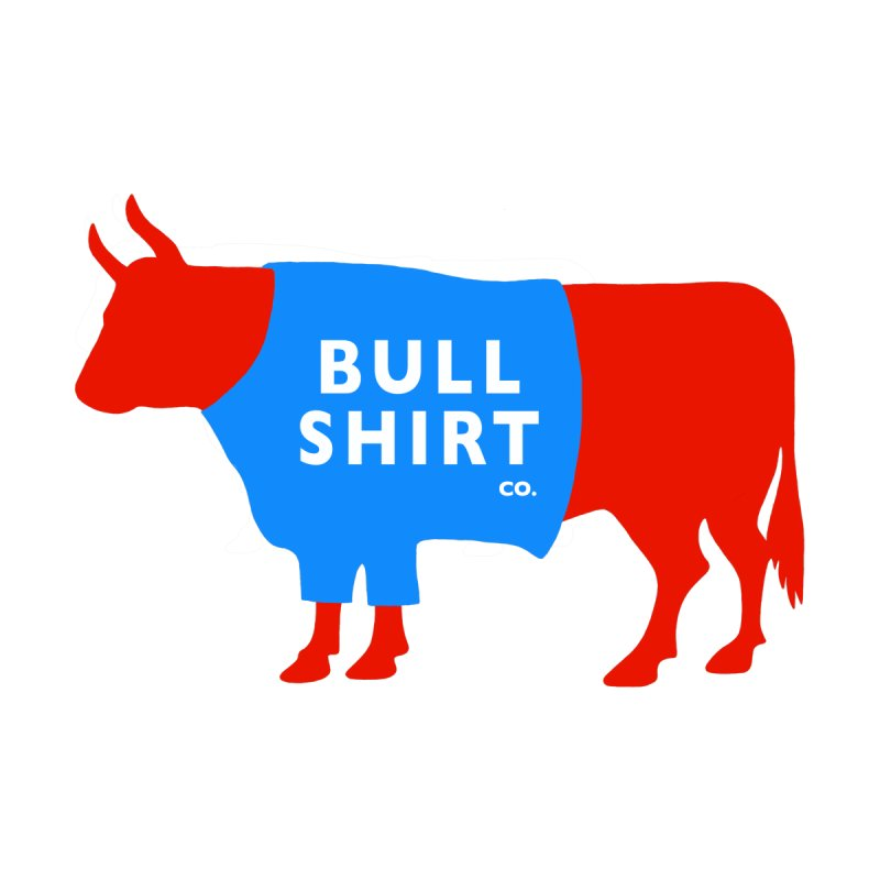 Bull Shirt Co! Serious Shirt for Fancy Folks. Men's T-Shirt by BullShirtCo