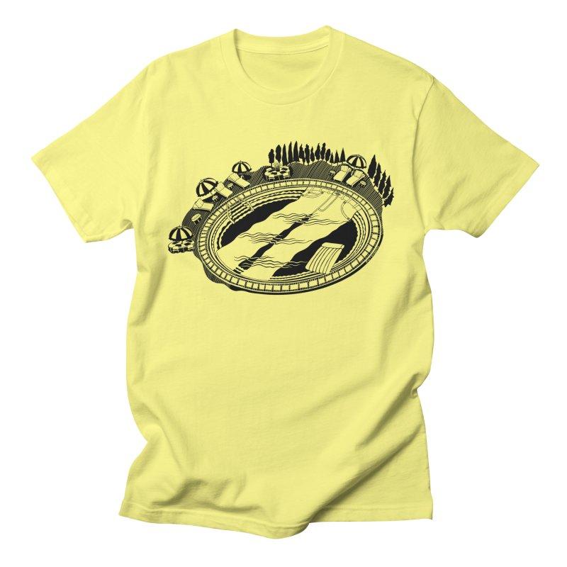 Jean Pool! Clever Genetic fun or what? in Men's Regular T-Shirt Lemon by BullShirtCo