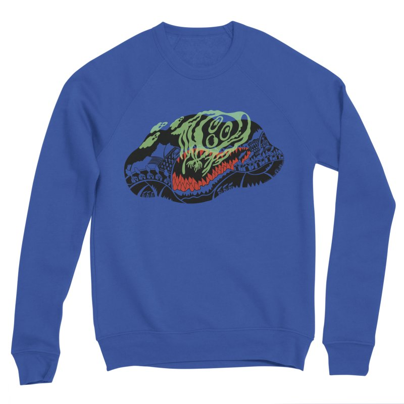 Ghost Town - Three colors only Women's Sponge Fleece Sweatshirt by BullShirtCo