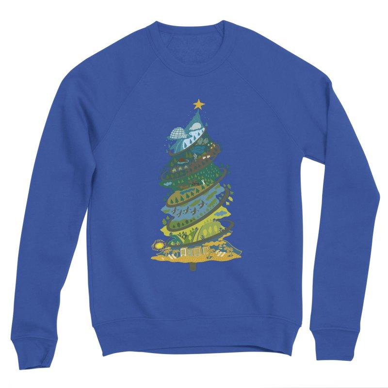 Go South for the Holidays Women's Sponge Fleece Sweatshirt by BullShirtCo