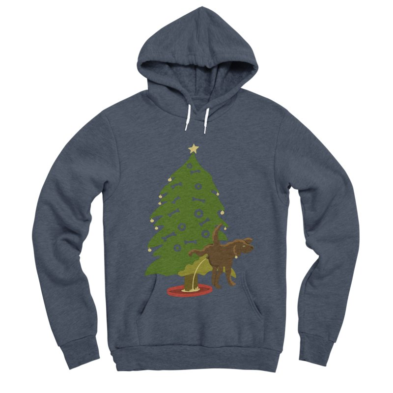 My Dog's Own Tree Women's Sponge Fleece Pullover Hoody by BullShirtCo