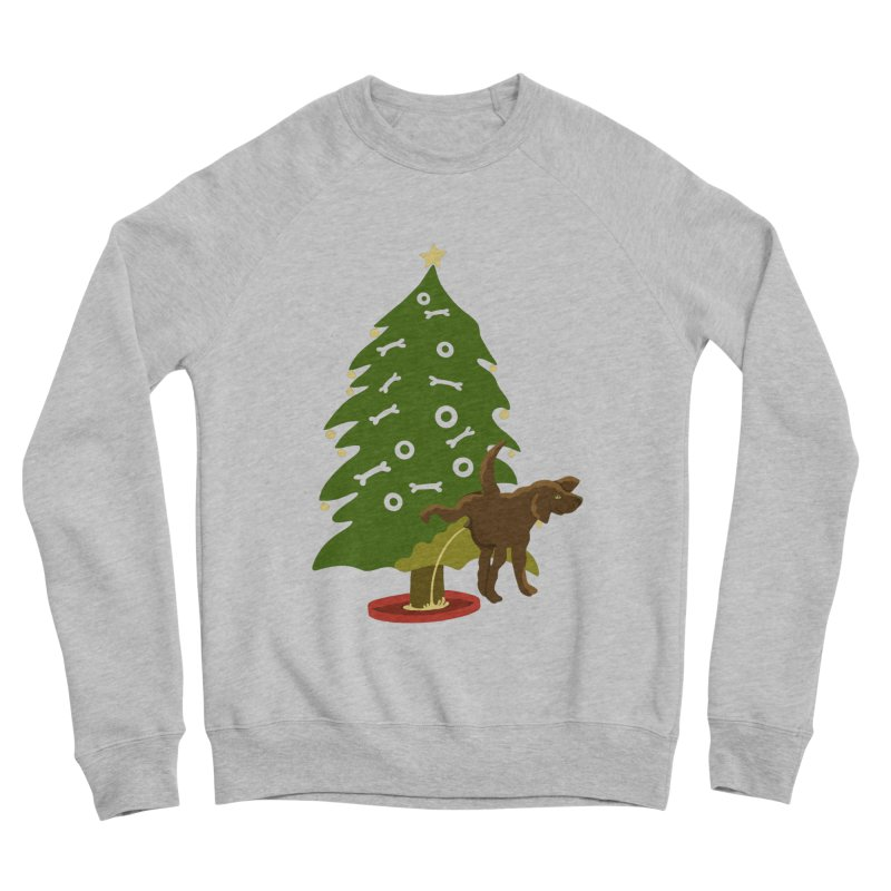 My Dog's Own Tree Women's Sponge Fleece Sweatshirt by BullShirtCo