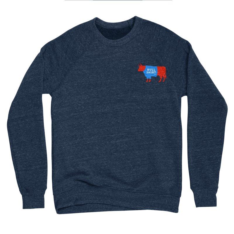 BullShirtCo Signature Shirt with small logo Women's Sponge Fleece Sweatshirt by BullShirtCo