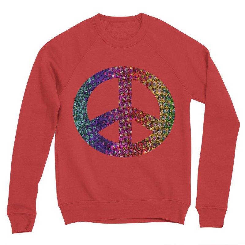 Peace, Baby! Women's Sponge Fleece Sweatshirt by BullShirtCo