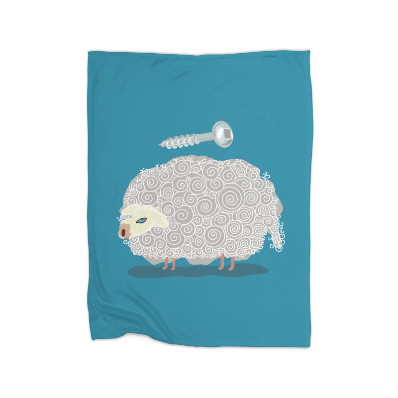 Screw Ewe! Home Blanket by BullShirtCo