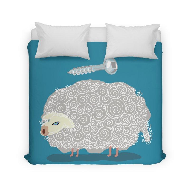 Screw Ewe! Home Duvet by BullShirtCo