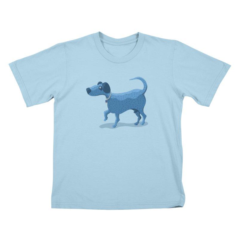 My Dog Blue Kids T-Shirt by BullShirtCo