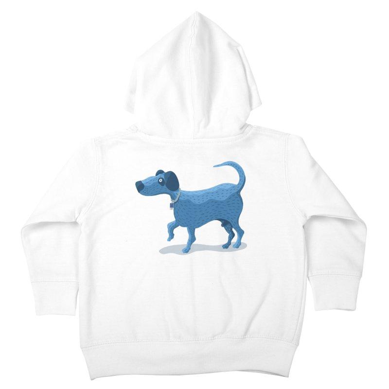 My Dog Blue Kids Toddler Zip-Up Hoody by BullShirtCo