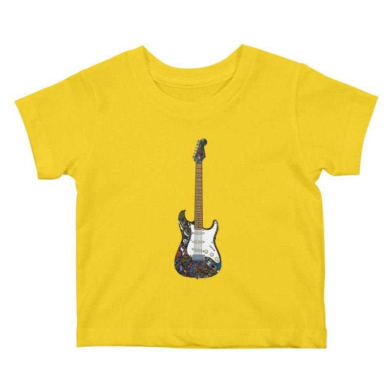 Eric's Strato Kids Baby T-Shirt by BullShirtCo