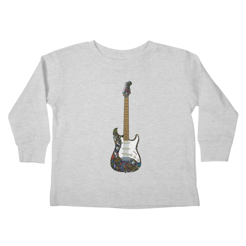 Eric's Strato Kids Toddler Longsleeve T-Shirt by BullShirtCo