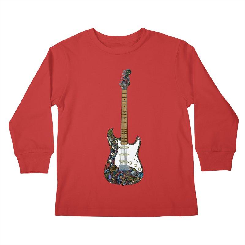 Eric's Strato Kids Longsleeve T-Shirt by BullShirtCo