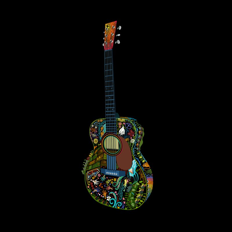 Eric's Martin Guitar Full Colour! Men's T-Shirt by BullShirtCo