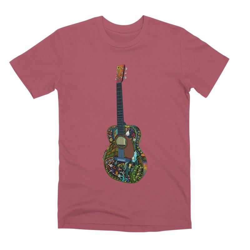 Eric's Martin Guitar Full Colour! Men's Premium T-Shirt by BullShirtCo