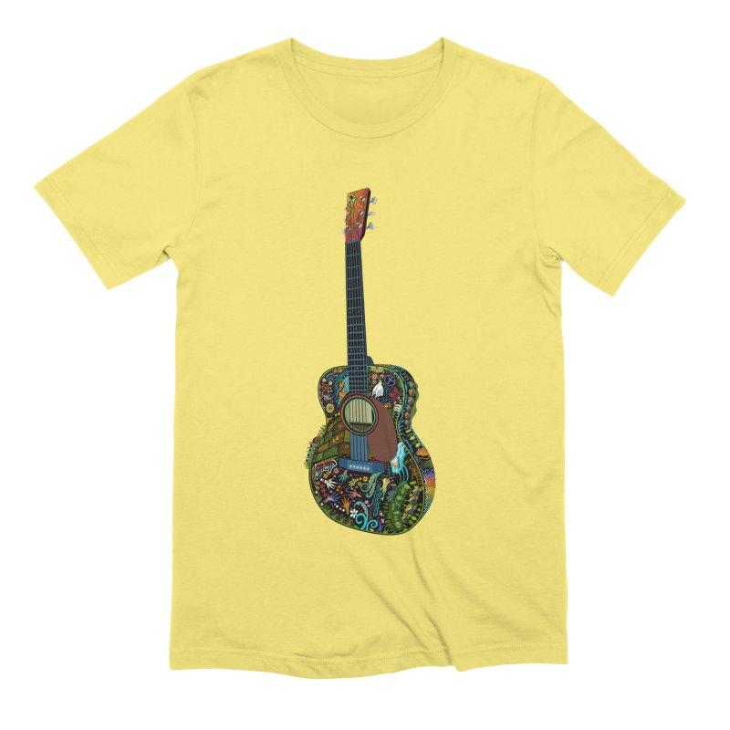 Eric's Martin Guitar Full Colour! Men's Extra Soft T-Shirt by BullShirtCo