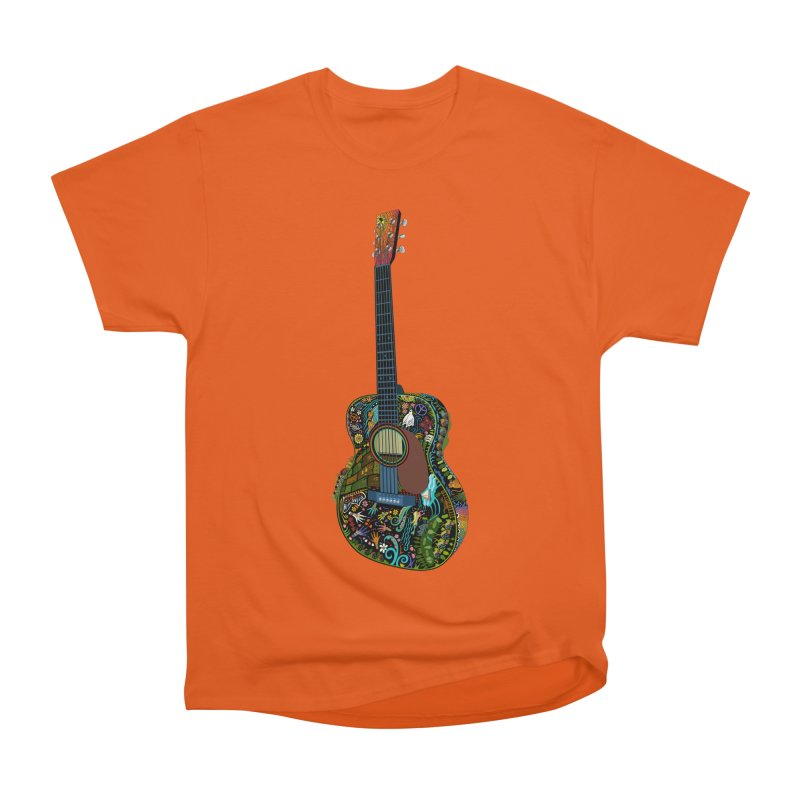 Eric's Martin Guitar Full Colour! Men's Heavyweight T-Shirt by BullShirtCo