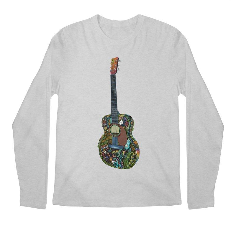 Eric's Martin Guitar Full Colour! Men's Regular Longsleeve T-Shirt by BullShirtCo