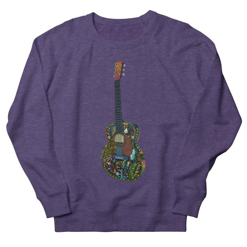 Eric's Martin Guitar Full Colour! Women's French Terry Sweatshirt by BullShirtCo