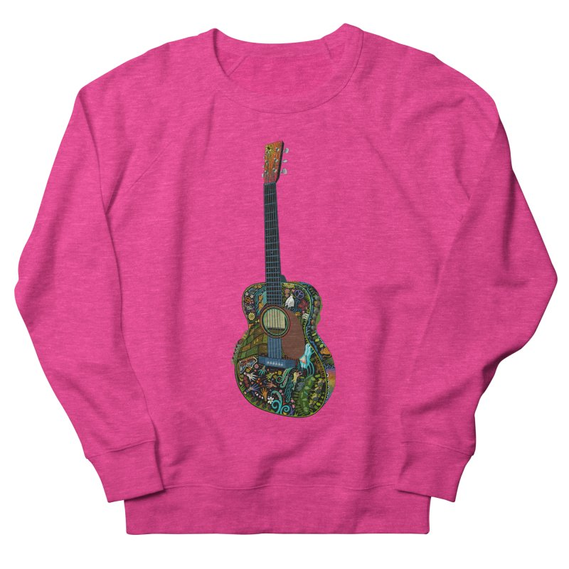 Eric's Martin Guitar Full Colour! Men's French Terry Sweatshirt by BullShirtCo