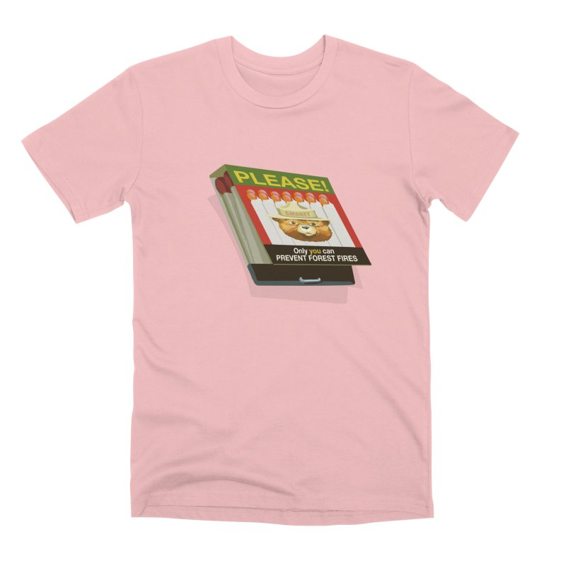 Smokey the Bear's Matches Men's Premium T-Shirt by BullShirtCo