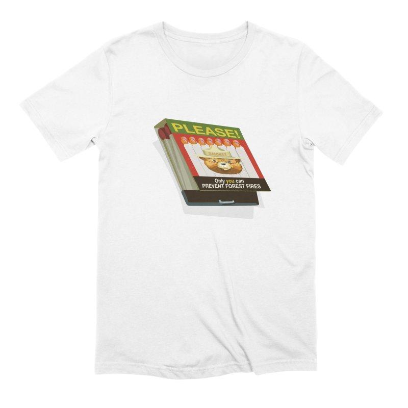 Smokey the Bear's Matches Men's Extra Soft T-Shirt by BullShirtCo