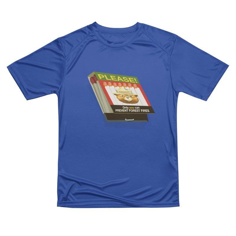 Smokey the Bear's Matches Women's Performance Unisex T-Shirt by BullShirtCo