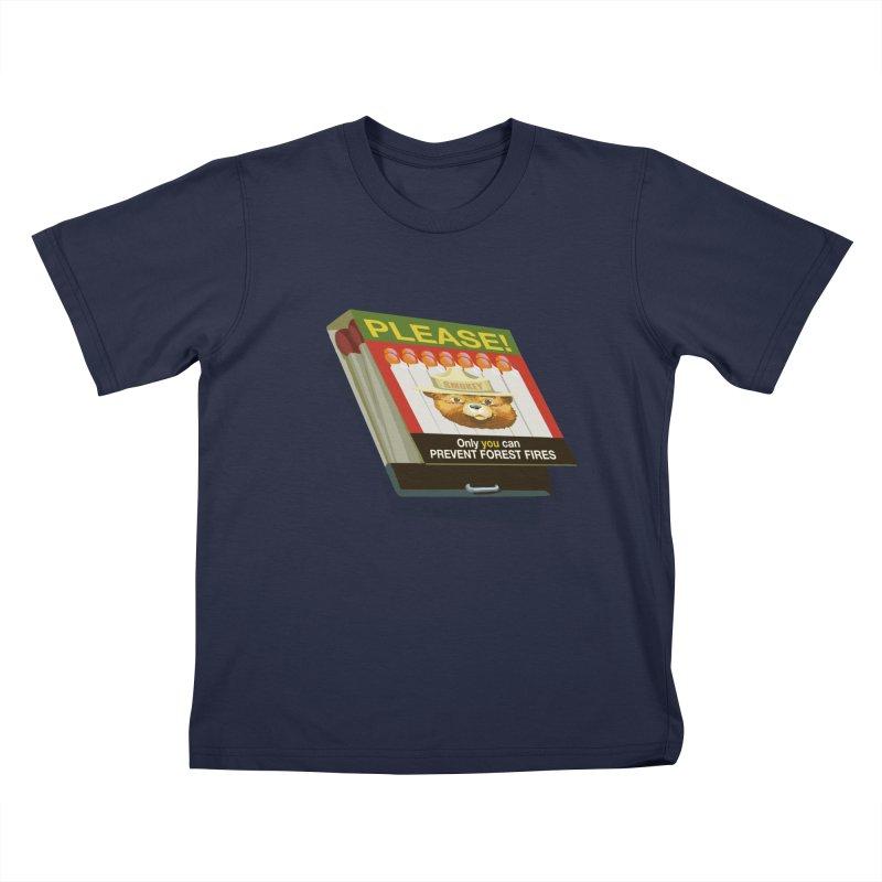 Smokey the Bears Matches Kids T-Shirt by BullShirtCo