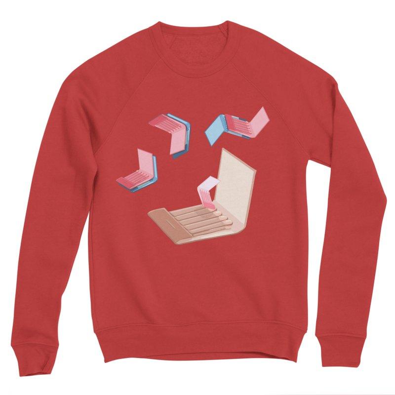 Matchmaking! Men's Sponge Fleece Sweatshirt by BullShirtCo