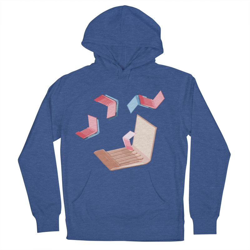 Matchmaking! Men's French Terry Pullover Hoody by BullShirtCo