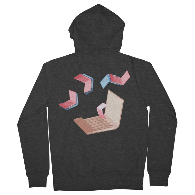 Matchmaking! Women's French Terry Zip-Up Hoody by BullShirtCo