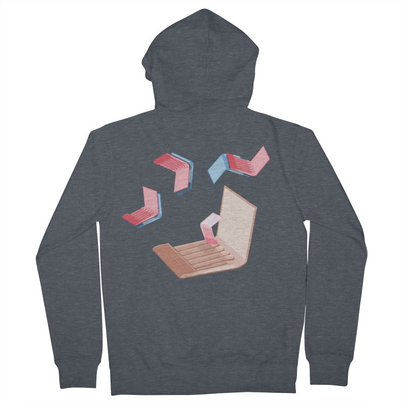 Matchmaking! Men's French Terry Zip-Up Hoody by BullShirtCo