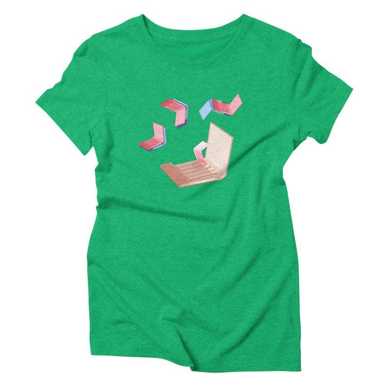 Matchmaking! Women's Triblend T-Shirt by BullShirtCo