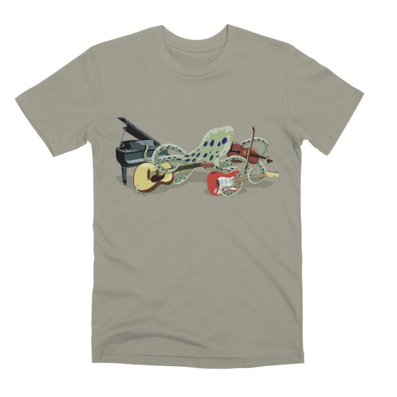 ROCKtopus Men's Premium T-Shirt by BullShirtCo