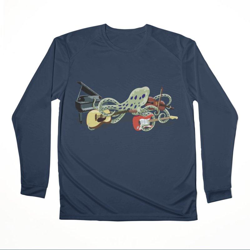 ROCKtopus Men's Performance Longsleeve T-Shirt by BullShirtCo