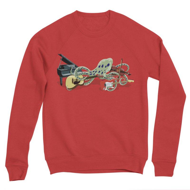 ROCKtopus Women's Sponge Fleece Sweatshirt by BullShirtCo