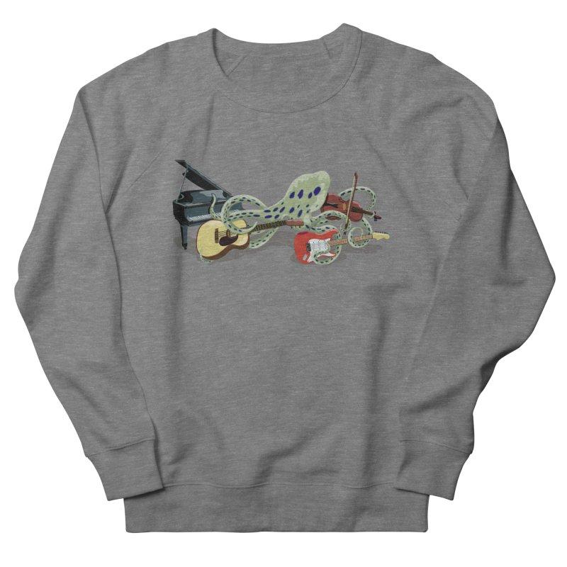 ROCKtopus Women's French Terry Sweatshirt by BullShirtCo