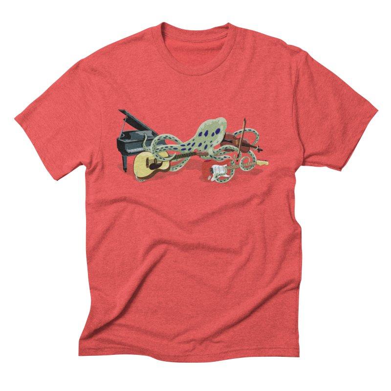 ROCKtopus Men's Triblend T-Shirt by BullShirtCo