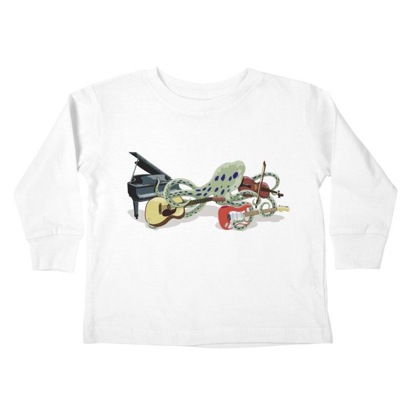 ROCKtopus Kids Toddler Longsleeve T-Shirt by BullShirtCo