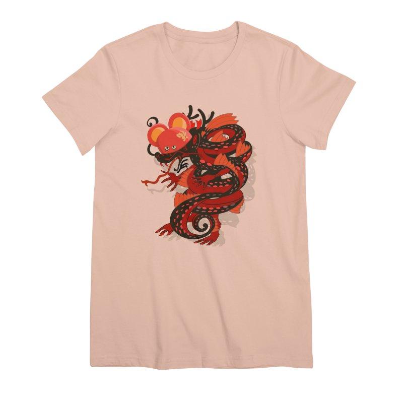 Team Player Chinese New Year Women's Premium T-Shirt by BullShirtCo