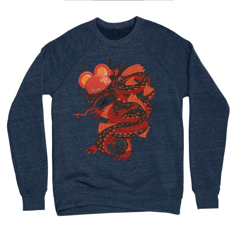 Team Player Chinese New Year Men's Sponge Fleece Sweatshirt by BullShirtCo