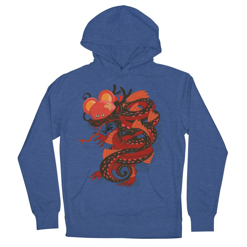 Team Player Chinese New Year Women's French Terry Pullover Hoody by BullShirtCo