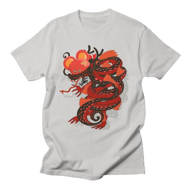 Team Player Chinese New Year in Men's Regular T-Shirt Stone by BullShirtCo