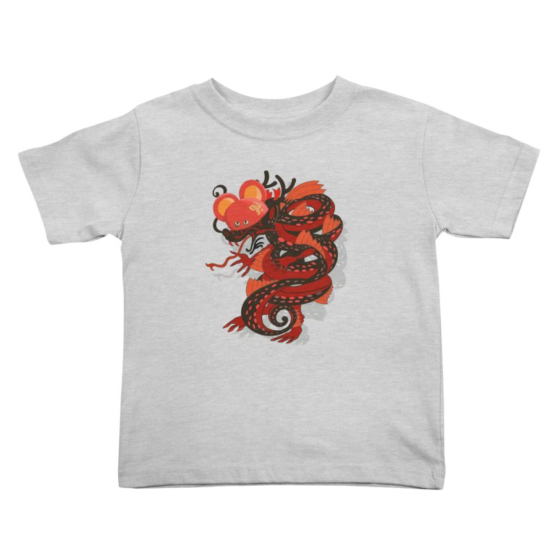 Team Player Chinese New Year Kids Toddler T-Shirt by BullShirtCo