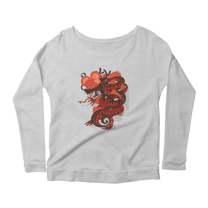 Team Player Chinese New Year Women's Scoop Neck Longsleeve T-Shirt by BullShirtCo