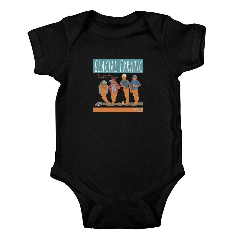 Glacial Erratic Canadian Band t-shirt Kids Baby Bodysuit by BullShirtCo