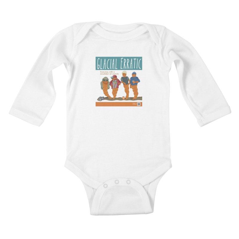 Glacial Erratic Canadian Band t-shirt Kids Baby Longsleeve Bodysuit by BullShirtCo
