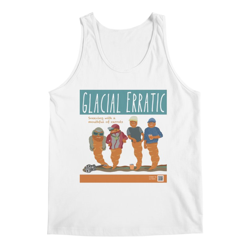 Glacial Erratic Canadian Band t-shirt Men's Regular Tank by BullShirtCo