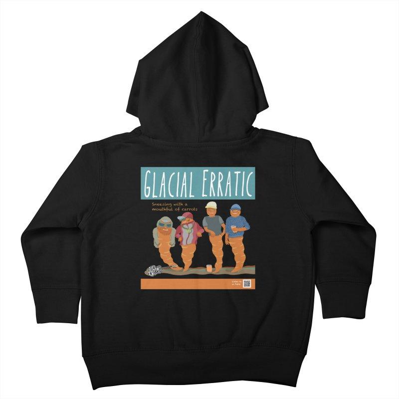 Glacial Erratic Canadian Band t-shirt Kids Toddler Zip-Up Hoody by BullShirtCo
