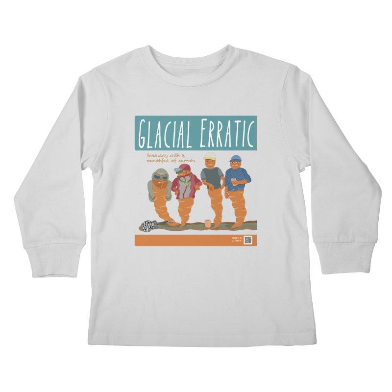 Glacial Erratic Canadian Band t-shirt Kids Longsleeve T-Shirt by BullShirtCo