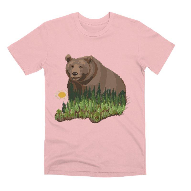 Woods in a Bear Men's Premium T-Shirt by BullShirtCo