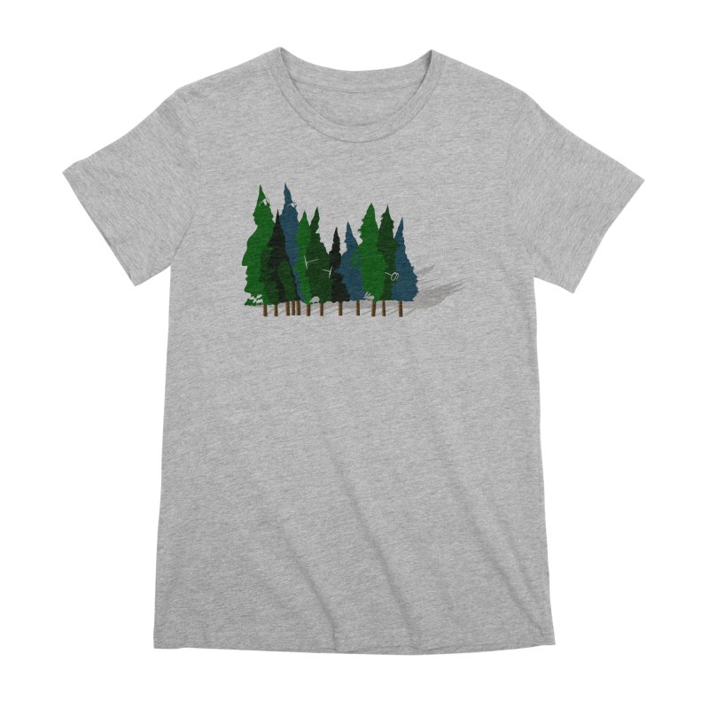 Find it in the Woods Women's Premium T-Shirt by BullShirtCo